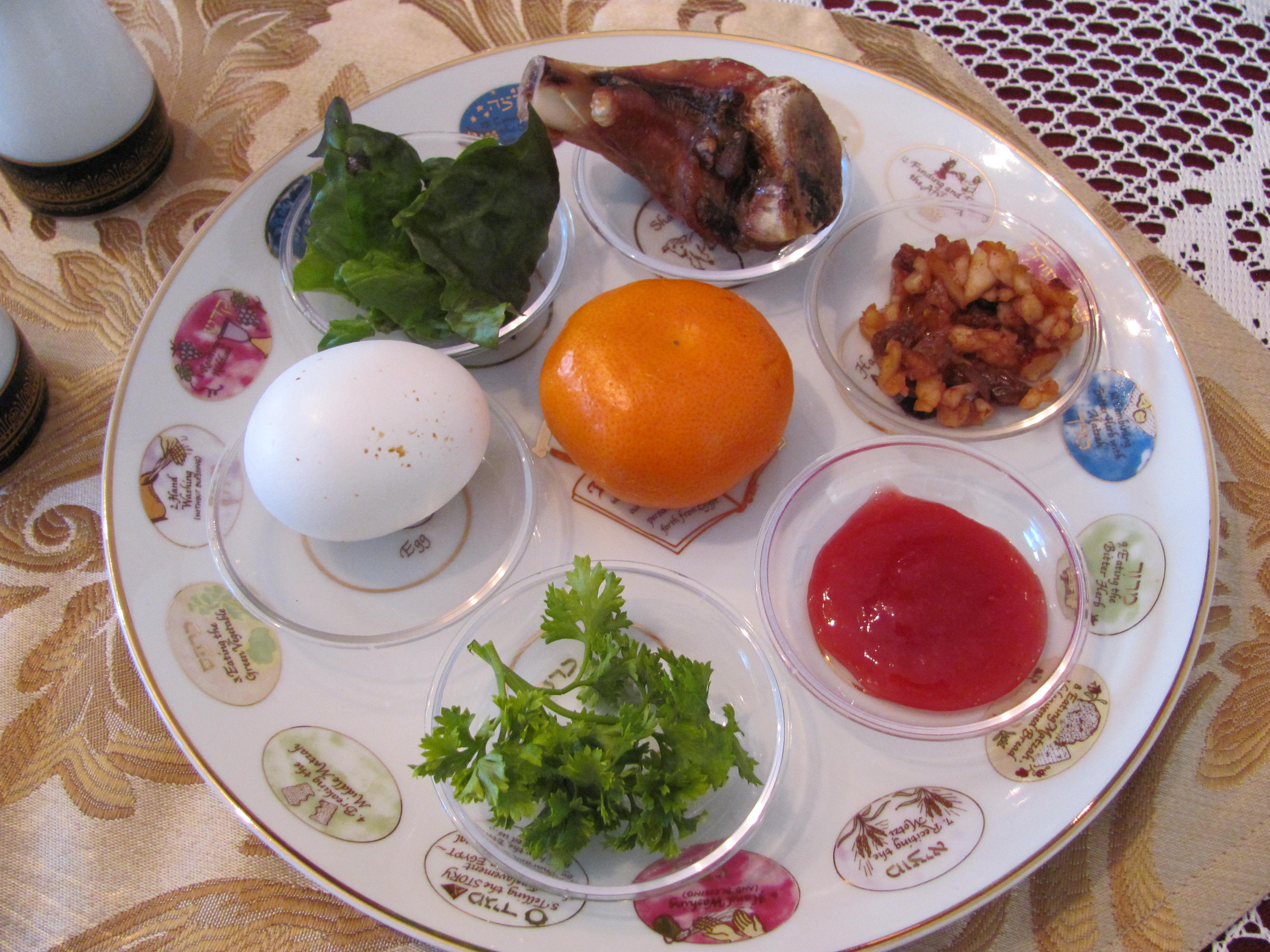 Passover seder prayers and the meaning of the seder foods for Cuisine meaning