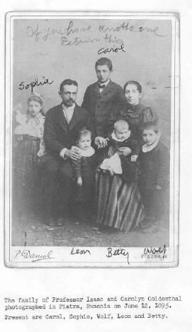 isaac-itzchok-goldenthal-family